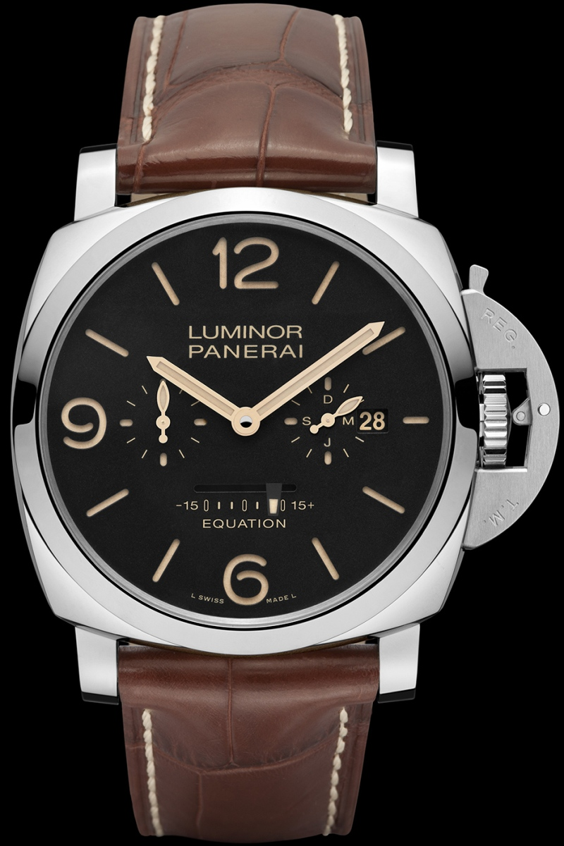 Foto: Materiały prasowe Panerai, Luminor 1950 Equation Of Time 8 Days (47mm)