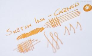Próbka na papierze ksero