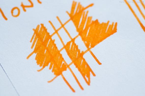 Próbka wykonana na papierze ksero