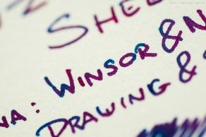 Próbka na papierze Winsor&Newton